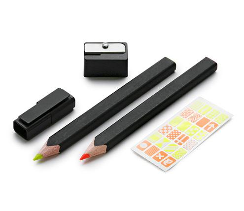 highlighter-pencil-set-3-mm-wood-pencil-orange-and-yellow-fullsize-1