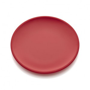 lunea-melamine-red-dinner-plate