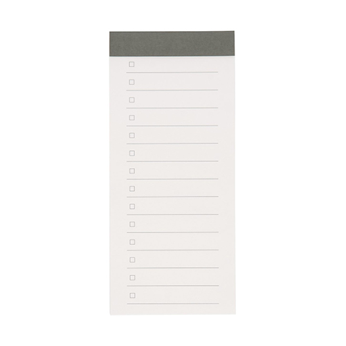 Muji-Checklist-Notepad