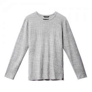 Smoke-Herringbone-Crewneck